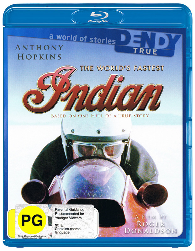 The World's Fastest Indian on Blu-ray