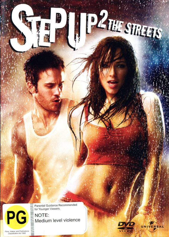 Step Up 2 - The Streets on DVD