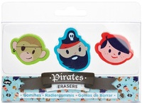Pirate Eraser Set