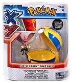 XY Pokémon Clip 'n Carry Poké Ball - Talonflame