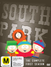 South Park - The Complete 1st Season (3 Disc Box Set) on DVD image