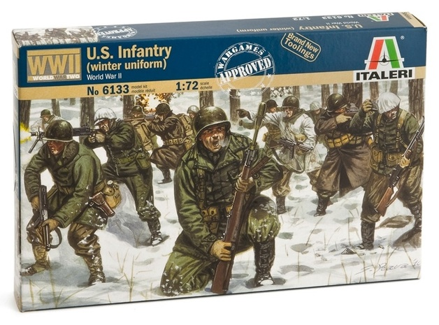 Italeri: 1:72 U.S.Infantry (Winter Unif.) - Model Kit