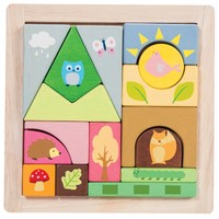 Le Toy Van: Petilou - Woodland Puzzle Blocks