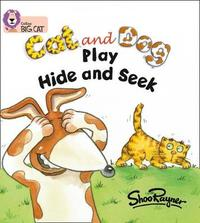 Cat and Dog Play Hide and Seek image