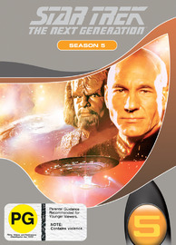 Star Trek: The Next Generation - Season 5 on DVD