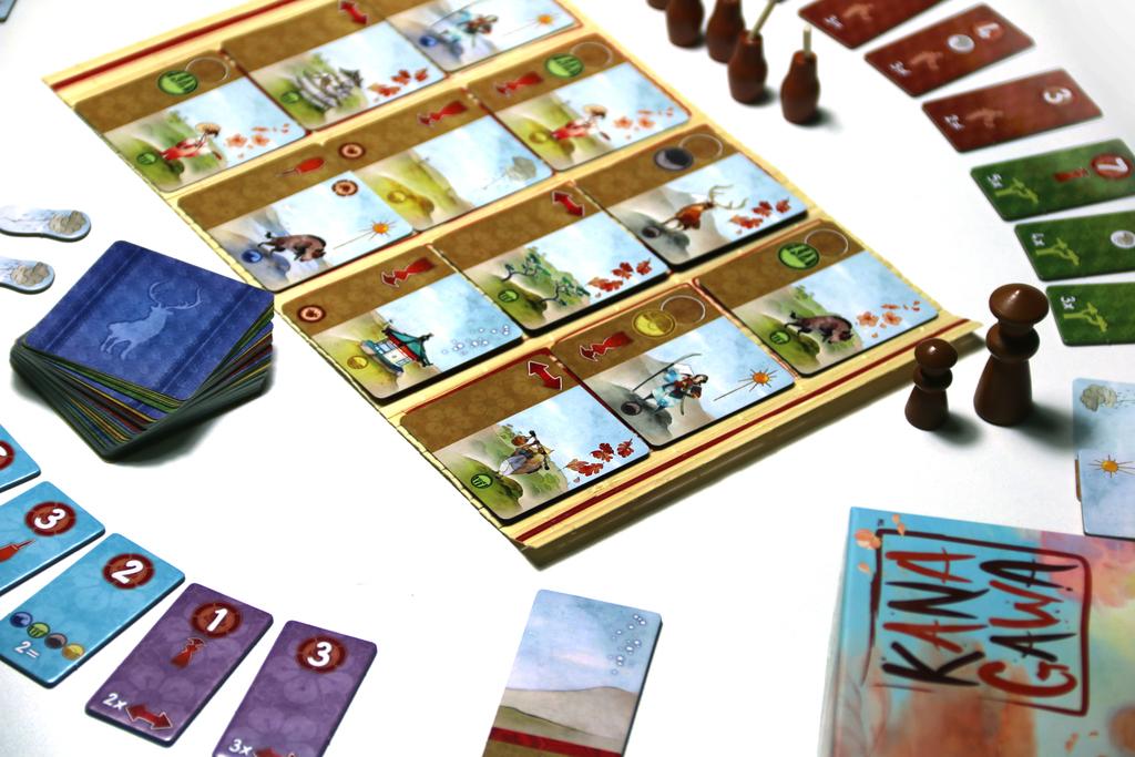 Kanagawa - Board Game image