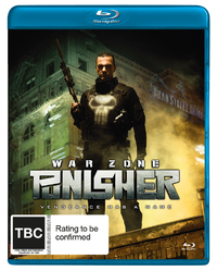 The Punisher: War Zone on Blu-ray