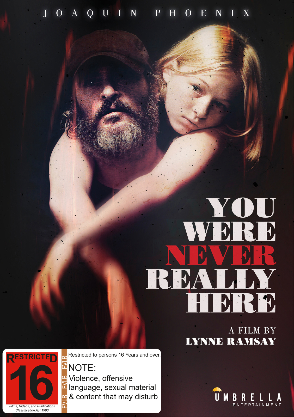 You Were Never Really Here on DVD image
