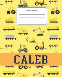 Composition Book Caleb by Construction Composition Books image