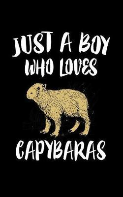 Just A Boy Who Loves Capybaras by Marko Marcus image