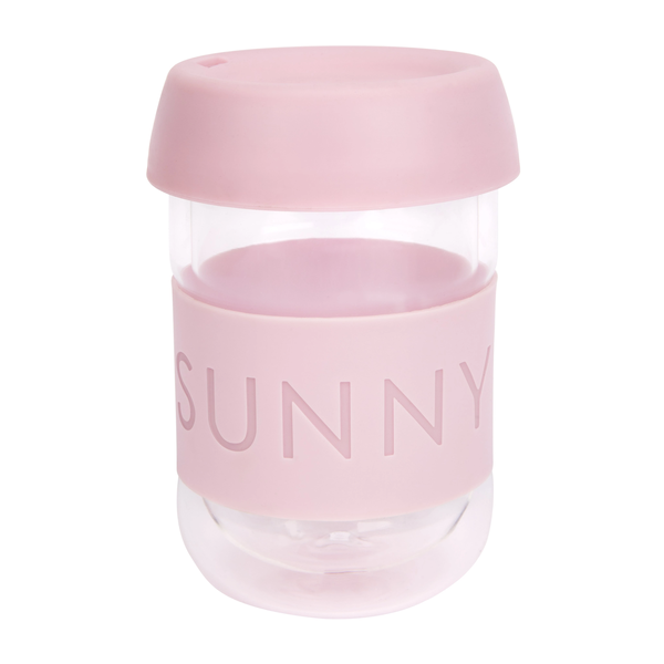 Sunnylife: Eco Coffee Cup - Pink