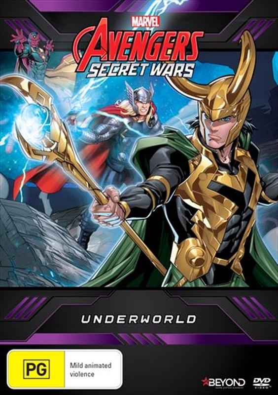 Avengers Secret Wars: Underworld on DVD