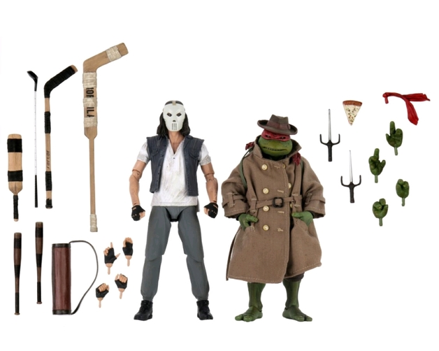 "Teenage Mutant Ninja Turtles: Casey Jones & Raphael - 7"" Action Figure 2-Pack"