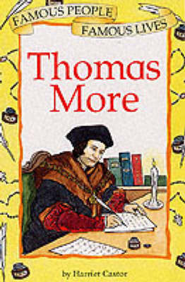 Thomas More by Harriet Castor image