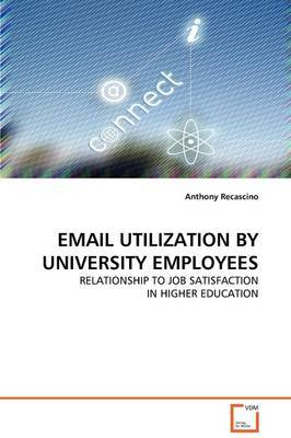 Email Utilization by University Employees by Anthony Recascino image
