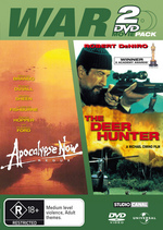 War 2 DVD Movie Pack (Apocalypse Now Redux / Deer Hunter) (2 Disc Set) on DVD