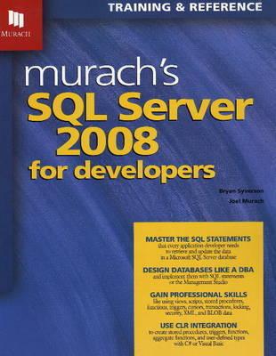 Murach's SQL Server 2008 by Bryan Syverson