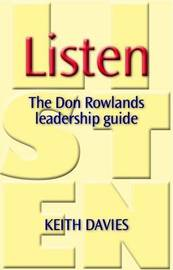 Listen: The Don Rowlands Leadership Guide by Keith Davies image