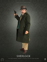 "Sherlock - 12"" Dr John Watson (The Abominable Bride) Articulated Figure"