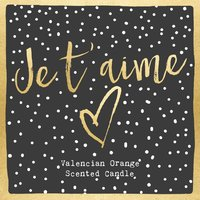 Je T'Aime Candle image