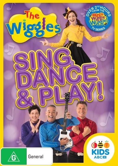 The Wiggles: Sing, Dance & Play! on DVD