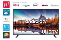 "Kogan 55"" 4K UHD HDR LED Smart TV Android TV"