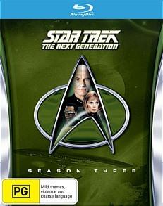 Star Trek The Next Generation - The Complete Third Season on Blu-ray