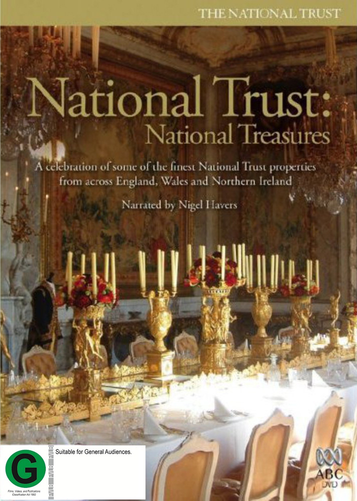 National Trust - National Treasures (4 Disc Set) on DVD image