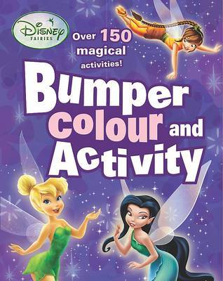 Disney Bumper Colouring and Activity: Fairies