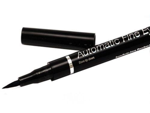 W7 Automatic Felt Eye Liner Pen (Black, Waterproof) image