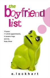 The Boyfriend List by E Lockhart image