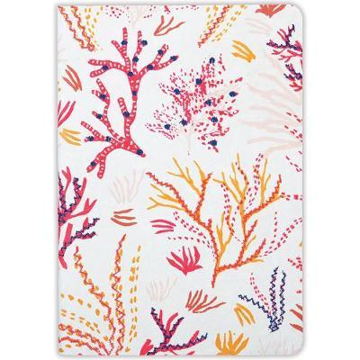 Journal : Handmade LG Embroidered - Coral