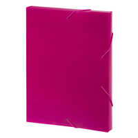 Marbig: A4 Document Box - Pink