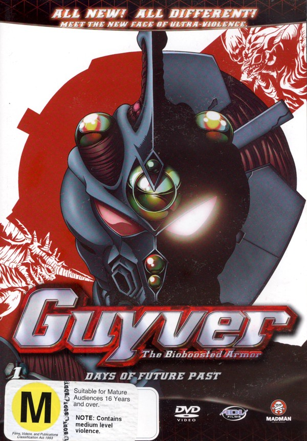 Guyver - The Bioboosted Armor: Vol. 1 - Days Of Future Past on DVD image