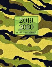 2019 2020 Camo Military 15 Months Daily Planner by Zenwerkz