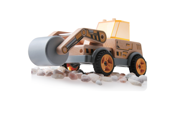 Discoveroo: Build-a-Road Roller - Wooden Playset