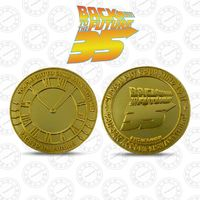 Back to the Future: Collectible Coin - 35th Anniversary (Gold Edition) image