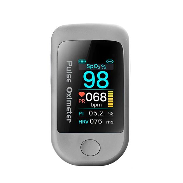 Smart Fingertip Pulse Oximeter - Bluetooth 5.1