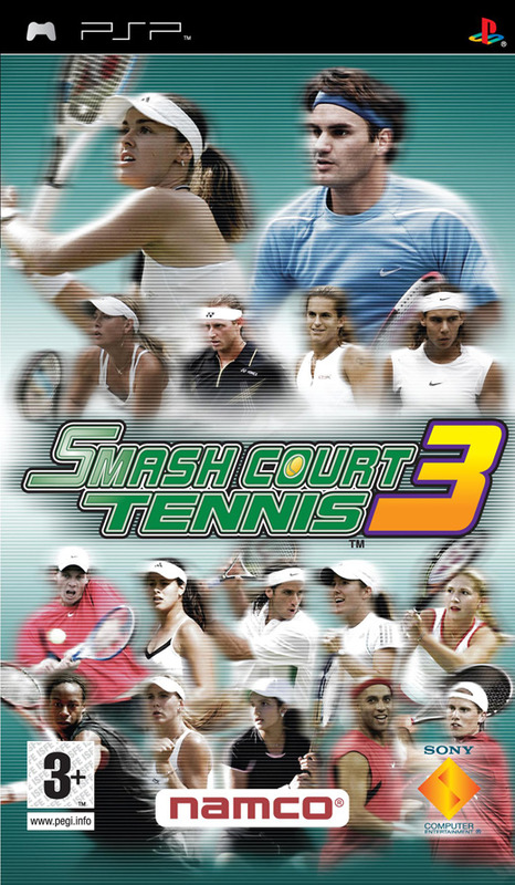 Smash Court Tennis 3 (Platinum) for PSP