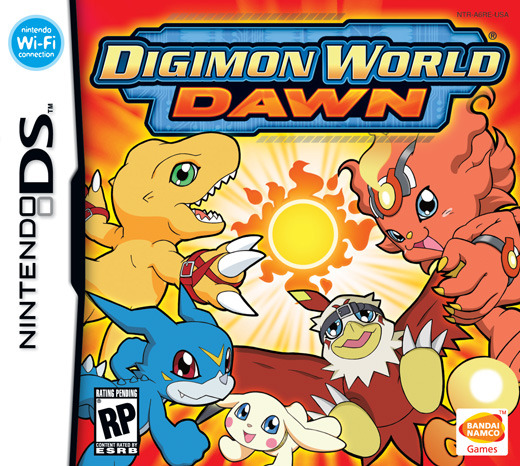 Digimon World: Dawn for Nintendo DS