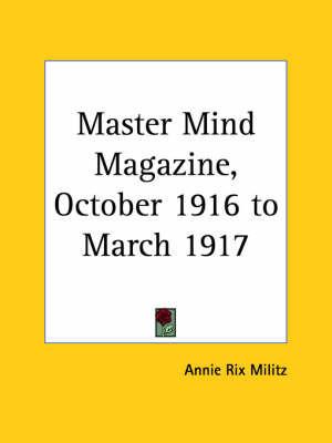 Master Mind Magazine (1916): v. 11