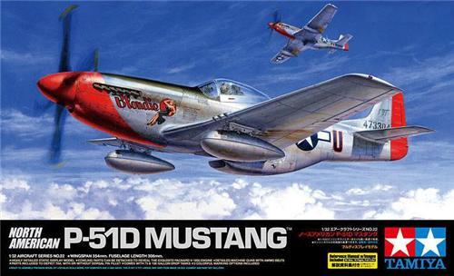Tamiya North American P-51D Mustang 1:32 Model Kit