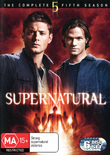 Supernatural - The Complete 5th Season (6 Disc Set) on DVD