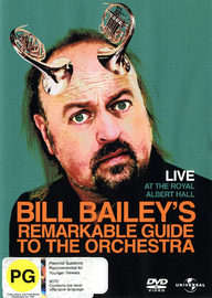 Bill Bailey's Remarkable Guide to the Orchestra on DVD