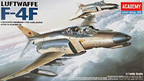 Academy F-4F Phantom II 1/144 Model Kit image