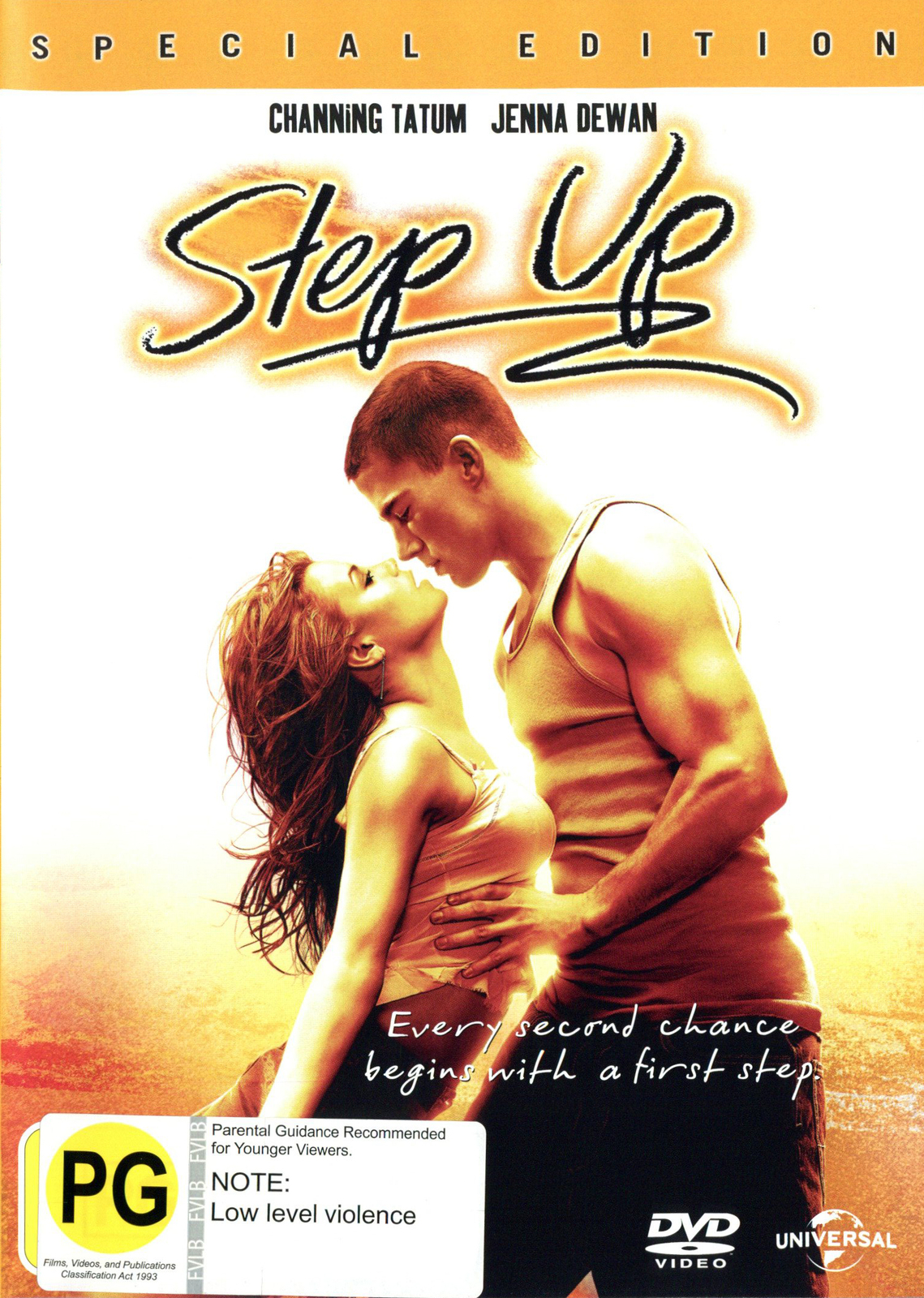 Step Up - Special Edition on DVD image