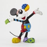 Romero Britto - Mickey Mouse Arms Out Mini Figurine