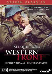 All Quiet on the Western Front on DVD