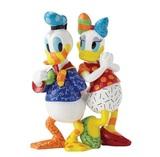 Romero Britto: Donald & Daisy Figurine
