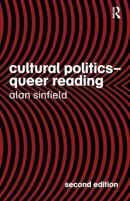 Cultural Politics - Queer Reading by Alan Sinfield image